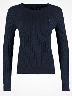 Gant Stickad tröja evening blue