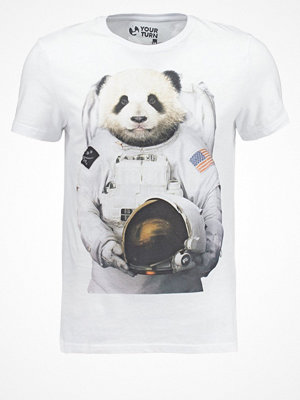 YourTurn Tshirt med tryck white