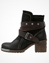 Fly London LOK Cowboy / Bikerstövletter black/brown