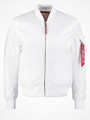 Jackor - Alpha Industries Bomberjacka white