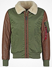 Jackor - Alpha Industries Bomberjacka sage green