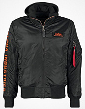 Jackor - Alpha Industries Allvädersjacka black/orange