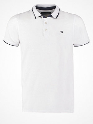 Jack & Jones JJPRPAULOS SLIM FIT Piké white