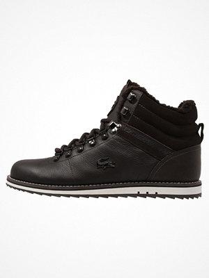 Boots & kängor - Lacoste JARMUND Snörstövletter dark brown