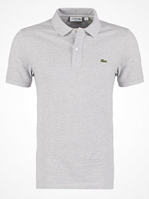 Lacoste SHORTSLEEVE SLIM FIT Piké silver chine