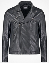 Jackor - Burton Menswear London PERCY Jacka i konstläder black