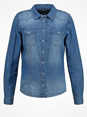 Only ONLALWAYSROCK Skjorta dark blue denim