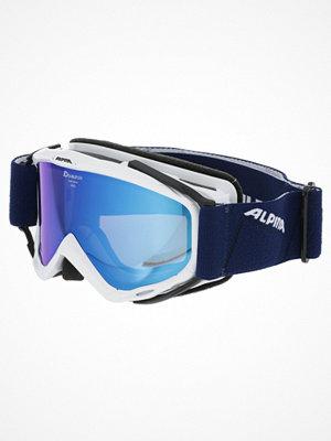 Skidglasögon - Alpina SPICE MM Skidglasögon white