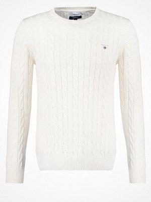 Gant CABLE CREW Stickad tröja creme