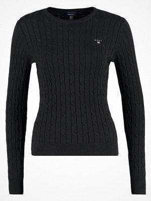 Gant Stickad tröja black
