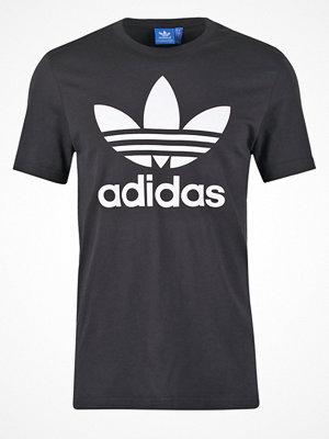 Adidas Originals ORIGINAL TREFOIL Tshirt med tryck black