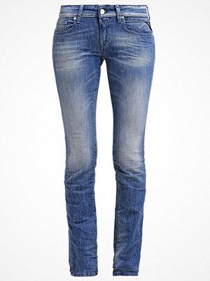 Replay VICKI Jeans straight leg mid blue denim