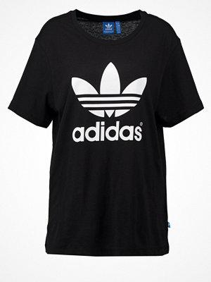 Adidas Originals BOYFRIEND TREFOIL Tshirt med tryck black