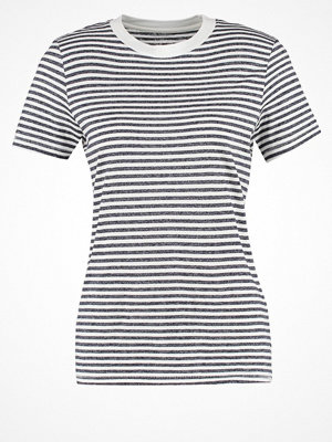 Selected Femme SFMY PERFECT Tshirt med tryck peacoat