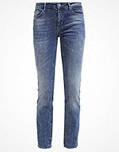 Only ONLELLA Jeans straight leg medium blue denim