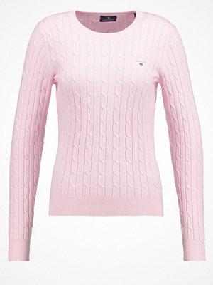Gant Stickad tröja light pink