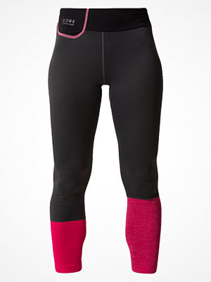 Gore Running Wear SUNLIGHT LADY  Tights raven brown/jazzy pink