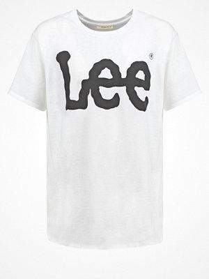 Lee Tshirt med tryck white