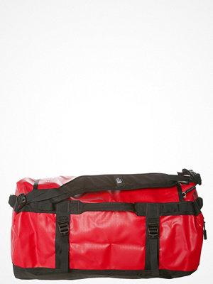 The North Face BASE CAMP DUFFEL Resväska red/black omönstrad