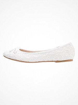 Anna Field Ballerinas white