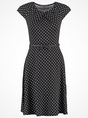 Anna Field Jerseyklänning black/white