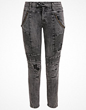 Replay MERIDETH Jeans Skinny Fit black heavy destroyed