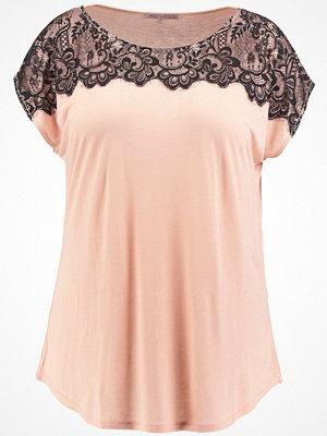 Anna Field Curvy Tshirt med tryck rose cloud