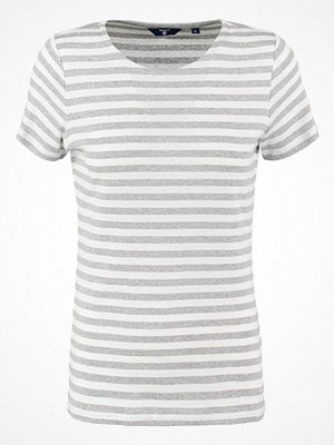 Gant Tshirt bas light grey melange