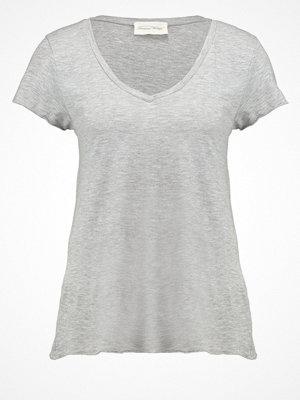 American Vintage Tshirt bas gris chine