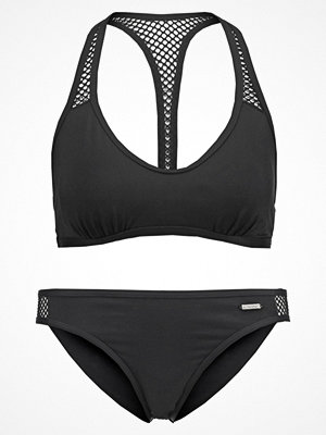 Sunseeker SET Bikini black solid