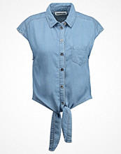 Noisy May Petite NMALEX Skjorta light blue denim