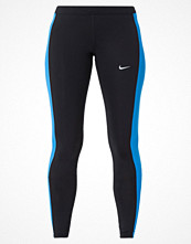 Nike Performance ESSENTIAL Tights black/light photo blue/reflective silver