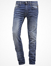 Jeans - Replay ANBASS  Jeans slim fit blue denim