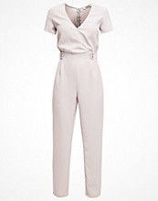 Twin Sister Overall / Jumpsuit light grey