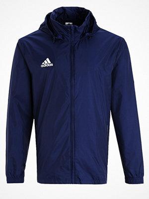 Regnkläder - Adidas Performance CORE Regnjacka dark blue/white