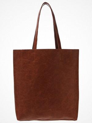 Even&Odd brun shopper Shoppingväska cognac
