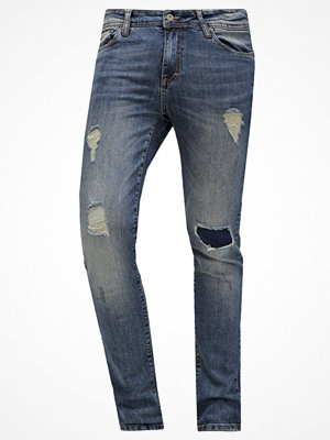 Pier One Jeans slim fit destroyed denim