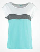 TWINTIP Tshirt med tryck turquoise/grey