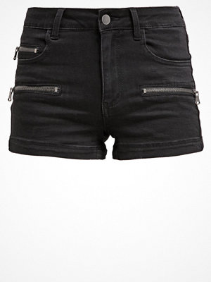Even&Odd Jeansshorts black denim