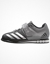 Sport & träningsskor - Adidas Performance POWERLIFT.3 Aerobics & gympaskor core black/silver metallic/iron metallic