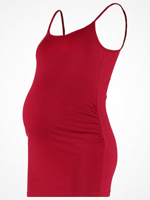 Zalando Essentials Maternity Linne dark red