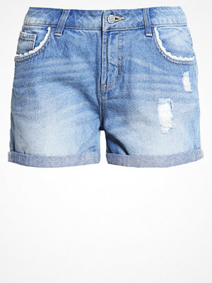 Vero Moda VMPAULA  Jeansshorts light blue denim