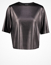 Topshop Tshirt med tryck silver