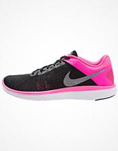 Sport & träningsskor - Nike Performance FLEX 2016 RUN Löparskor för tävling black/metallic cool grey/pink blast/white