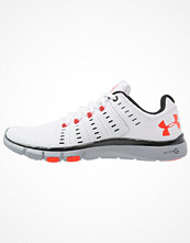Sport & träningsskor - Under Armour MICRO G LIMITLESS TR 2 Aerobics & gympaskor white/black/bolt orange