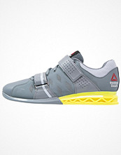 Sport & träningsskor - Reebok CROSSFIT LIFTER PLUS 2.0 Aerobics & gympaskor dust/grey/yellow