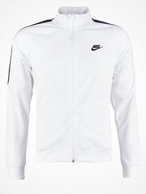 Sportjackor - Nike Sportswear TRIBUTE Träningsjacka white/black