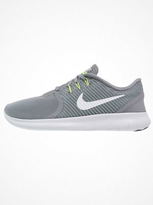 Sport & träningsskor - Nike Performance FREE RUN COMMUTER Sneakers cool grey/offwhite/dark grey/volt