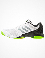 Sport & träningsskor - Adidas Performance MULTIDO ESSENCE Aerobics & gympaskor white/night metallic/solar green