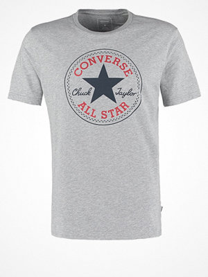 Converse CORE CHUCK PATCH  Tshirt med tryck vintage grey heather